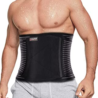 SYXUPAP Back Brace Support-Lumbar Support Waist Back Support Belt with 8 pcs Metal Spring Strip for Lower Back Pain Relie...