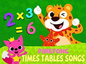 Pinkfong! Times Tables Songs