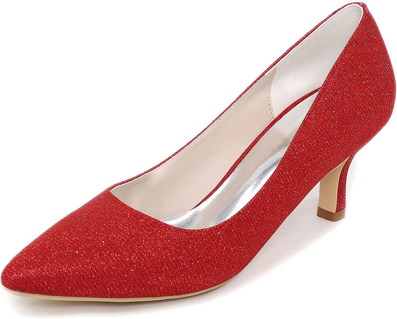 L@YC Women's Wedding shoes Wedge Wedding Platform Heels Platforms Give