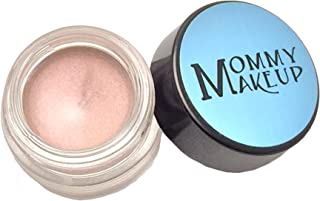 Any Wear Creme in Pink Icing (a pale pearlized pink) - The ultimate multi-tasking cosmetic - Smudge-proof Eye Shadow, Cheek Color, and Lip Color all-in-one by Mommy Makeup