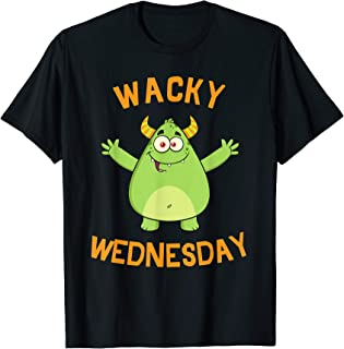 WACKY WEDNESDAY Shirt. Clothes for mismatch day