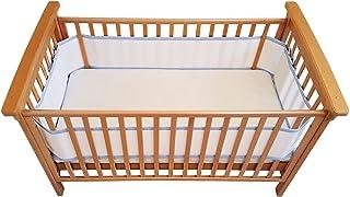 Airoya® Premium 4 Taraflı Karyola Yatağı Tamponu (Mavi)
