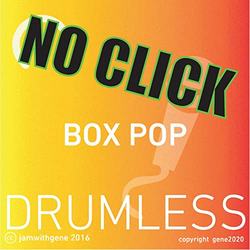 Drumless Pop Backing Track - (No Click) - 110 BPM by