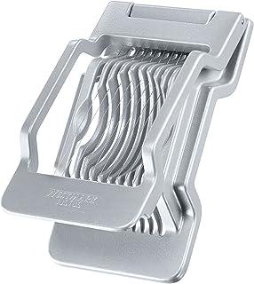 Westmark Äggskivare för runda eller ovala skivor, Individuellt spända skärtrådar i rostfritt stål, Aluminium/Rostfritt Stå...