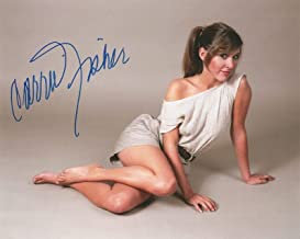 carrie fisher autograph psa