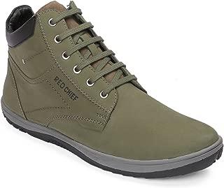 Red Chief Men's Green Boots-6 UK/India (40 EU)(RC3549 025)