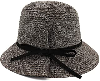 Sun Hat for men and women Ms. Summer UV Protection Beach Visor Ladies Hand Crochet Wide-brimmed Hat New
