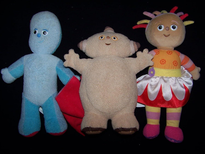 In The Night Garden 2007 Music & Sounds 12  Upsy Daisy Iggle Piggle Makka Pakka Plush Toy Set