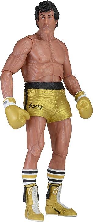 rocky 3 Action figure rocky balboa 40th anniversary action neca 53070