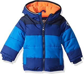 OshKosh B'Gosh Baby Boys Heavyweight Colorblock Puffer Coat