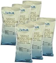 NAVA Quick Dissolving Di-Chlor Shock - (6) 1 lb Bags