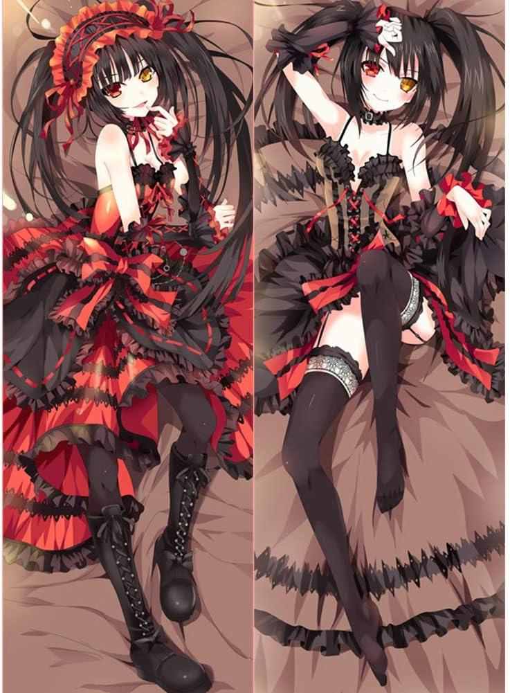 LXHQ Date A Max 87% OFF Live Tokisaki Kurumi Hugs Anime Pill Body Pillowcase Selling