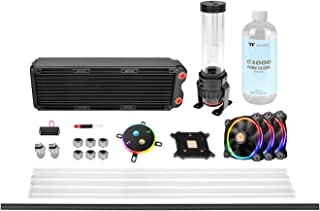 Thermaltake Pacific M360 D5 - Watercooling Kit/Sistema de refrigeración líquida, Color Negro