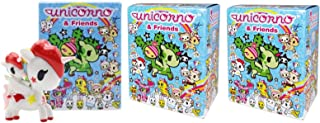 Tokidoki Unicorno & Friends Collectible Vinyl Figures, 3-inch (Pack of 3)
