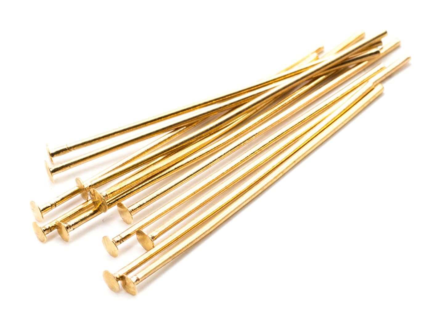 Cousin 25mm Plated Rose Gold Head Pins - 12pc