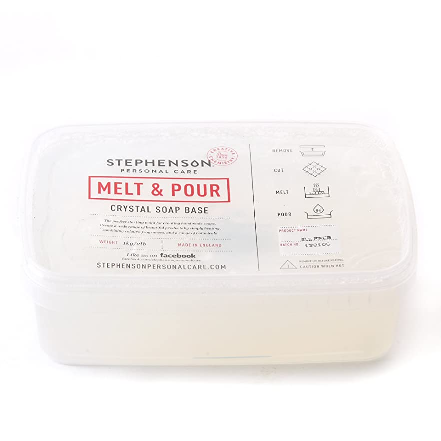 番号こねる車Melt and Pour Soap Base Clear SLS FREE - 10Kg