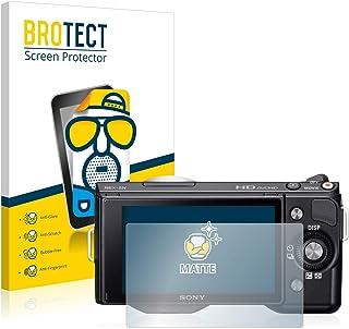 atFoliX Protecteur d/écran Compatible avec Sony NEX-5N Film Protection d/écran 3X antir/éfl/échissant et Absorbant Les Chocs FX Film Protecteur
