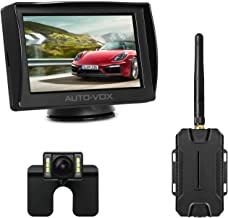 AUTO-VOX M1W Wireless Backup Camera Kit, Super Night Vision (6 LEDs) HD Rear View Camera..