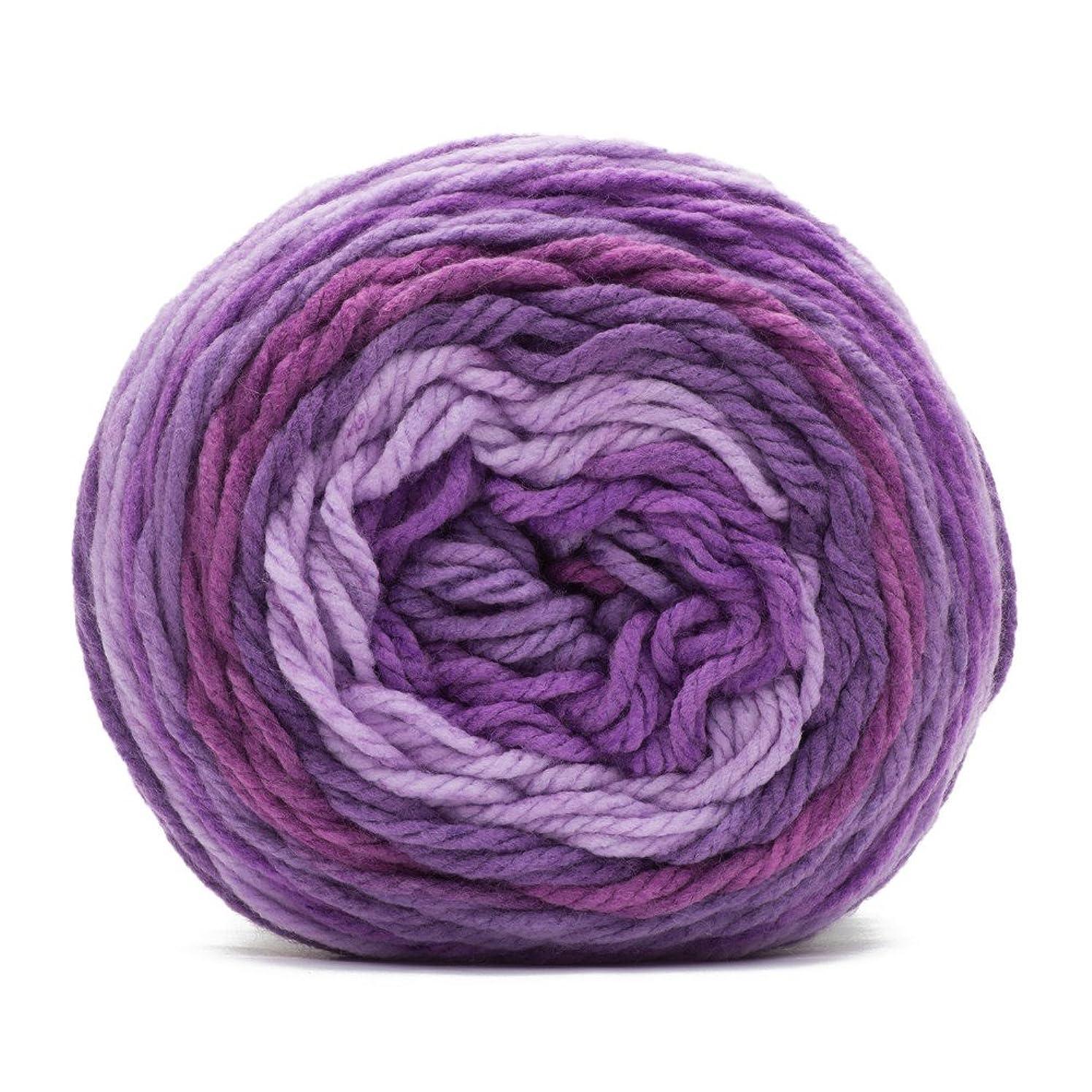 Caron Chunky Cakes Yarn - Elderberry Jelly