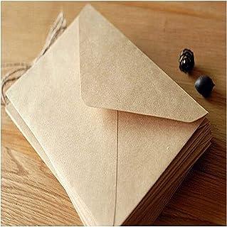 50PCS/lot Vintage simple Kraft paper envelope 16 * 11cm diy Gift envelopes for wedding red envelope supplies