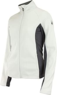 Spyder Women's Cora Full Zip Fleece Color Block Jacket, Color Variation