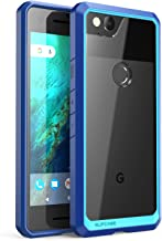 SUPCASE Unicorn Beetle Series Case Designed for Premium Google Pixel 2, Hybrid Protective Clear Case for Google Pixel 2 2017 Release (Frost/Navy)