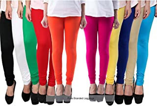 Pixie Leggings Set for Women's/Girls in Combo (Pack of 10) 160 GSM - Free Size