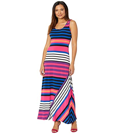 Calvin Klein Striped Maxi Dress Women