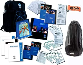 New Updated Padi Idc Crew Pack for Instructors Books Teaching Guides Padi Idc Crew Pack Includes Open Water Dvd, Slate Mesh Bag, 4' Inflatable Marker