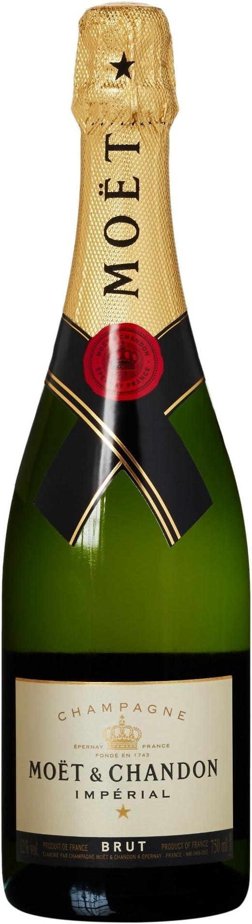 Moet Chandon Champagne Imperial, 750ml: Amazon.es ...