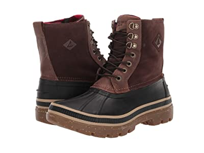 Sperry Ice Bay Boot (Black/Tan) Men