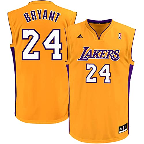 Outerstuff Kobe Bryant Los Angeles Lakers Yellow Kids Replica Jersey 105fcb8a7