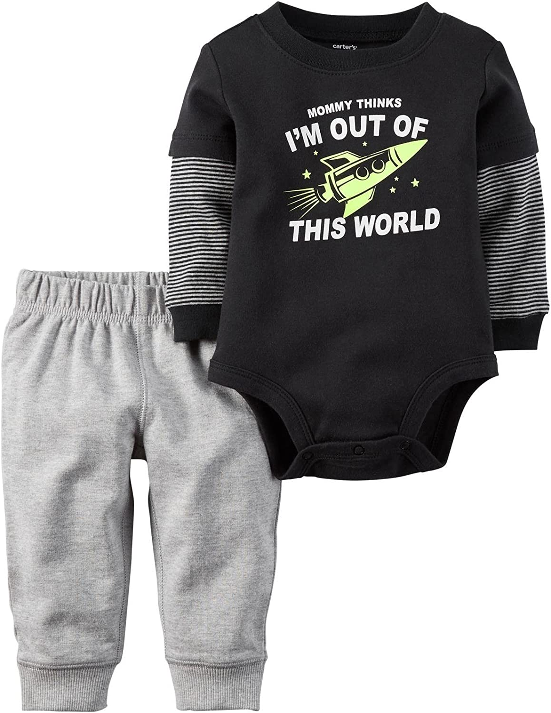 Carter's Baby Boys' Bodysuit Pant Sets 121g838