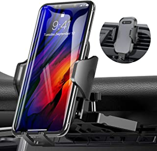 Ultra Stable Car Phone Mount, VICSEED NEWEST CD Slot & Air Vent Universal Cell Phone Holder for Car, Fit for iPhone 11 Pro Max Xs Xr X 8 7 6 Plus, Galaxy Note 10 S20 S20+ S10+ S10 S9 S8 Google LG Etc.