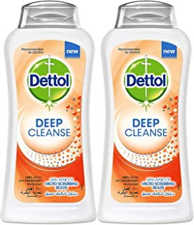 Dettol Deep Cleanse Anti-Bacterial Body Wash 250ml Twin Pack