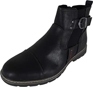 Day Five Mens Casual Zip Up Chelsea Boot Shoes