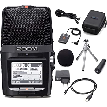 Zoom H2n - Registratore palmare + D-card 2 GB + set accessori AH-2n