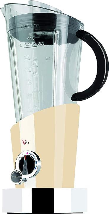 Frullatore elettrico per frullati e smoothie bugatti vela evolution 12-EVELAC/UK