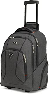 High Sierra 105577 Laptop Roller Case, Heather Grey, 40 L Capacity
