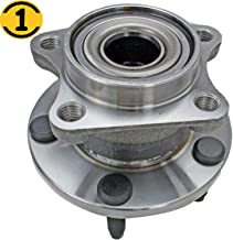 Rear Wheel Bearing Hub Assembly Fit 2007 2008 2009 2010 Ford Edge, Lincoln MKX Wheel Bearing Hub 5-Lug AWD Hub Bearing, Replace 512335