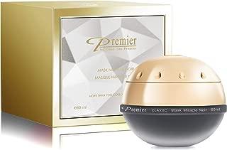Premier Dead Sea Classic original Miracle Noir Mask, Age defying, detoxifying, hydrating, nourishing, exfoliating, anti oxidant All in one best mask 2.04 Fl oz.