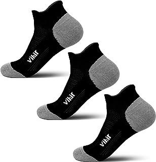 Calcetines para correr antiampollas, para mujer y hombre, para corredores de maratón, no se muestran calcetines de corte bajo resistente al sudor