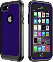 IMPACTSTRONG iPhone 7/8 Case, Ultra Protective Case with Built-in Clear Screen Protector Full Body Cover for iPhone 7 2016 /iPhone 8 2017 (Navy Blue)