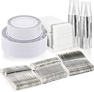 Best silver disposable plates Reviews
