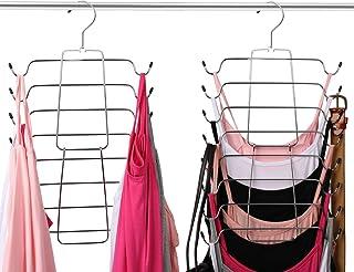 Aptech Tank Tops Camisole Clothes Hanger Closet Organizer for Metal Folding Space Saving Tank Tops, Cami, Bras, Bathing Su...