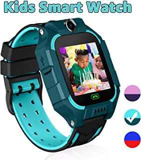 YENISEY Kid Smart Watches with Games,Waterproof Children Smartwatch Phone SOS Anti-Lost Voice Chat Camera Alarm Clock Quick Dial Flashlight for 3-4 Year Boys Girls Birthday Toys(Green) …