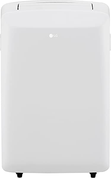LG LP0817WSR 115V Portable Air Conditioner With Remote Control In White For Rooms Up To 150 Sq Ft