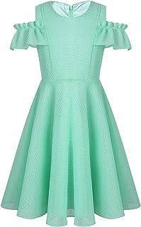 (ティアオバグ)TiaoBug ワンピース キッズ 女の子 ドレス プレゼント キッズドレス 子供服 かわいい 女の子 女児 ノースリーブ フォーマルワンピース 結婚式 誕生日