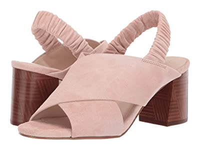 Cole Haan 65 mm Anastasia City Sandal (Mahogany Rose Suede) Women
