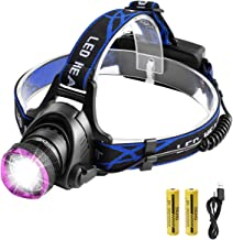 Siuyiu 5000Lm T6 LED Zoomable Regola Messa a a Fuoco Hoofdlamp Waterdichte zaklamp